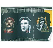 Three Faces of Che. Poster
