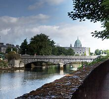 The Canal - Galway, County Galway, Ireland by Mark Richards