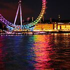 The London Eye supporting Pride by Rachel Slater