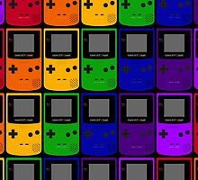 Gameboy Colors by wanderingent