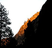 Slice of Alpenglow by Chris Gudger