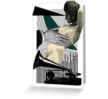 objection to objectification Greeting Card