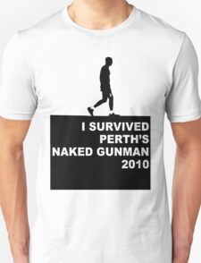 Naked Gunman 2010 T-Shirt