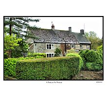 Cottage St.Bololph Green Elton Photographic Print