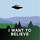 I Want to Believe  by Sarah  Mac