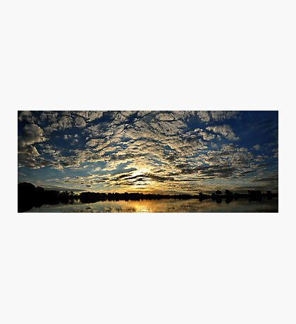 Okavango Delta Sunset - Botswana #2 Photographic Print