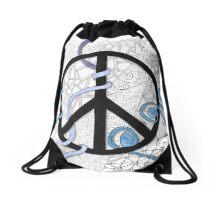 Tangled Peace Drawstring Bag