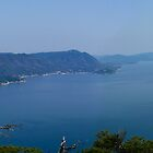 Miyajima Panorama - View from Mt Misen by helenmentiplay