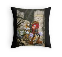 knuckles & Tails Throw Pillow