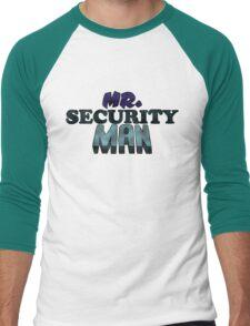 Mr. Security Man Men's Baseball ¾ T-Shirt