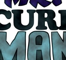 Mr. Security Man Sticker