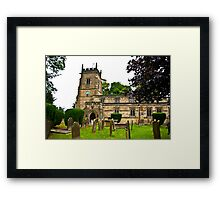 Slingsby Church  Framed Print