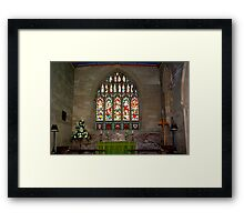 Slingsby Church Window Framed Print