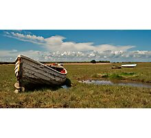 Fisherman's Boat Photographic Print