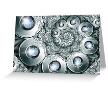 Over jeweled Greeting Card