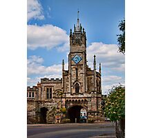 St Peter's Chapel and East Gate Warwick Photographic Print