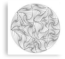 Circular Paradox Canvas Print