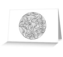 Circular Paradox Greeting Card