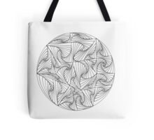 Circular Paradox Tote Bag