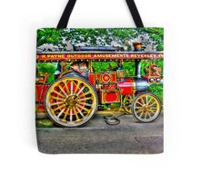 Steam Traction Engine #1 HDR Tote Bag