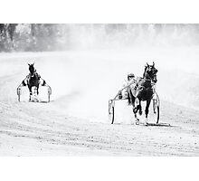 Favorite racing ahead Photographic Print