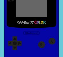 Game Boy Blue by wanderingent