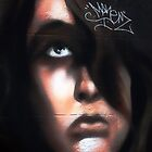 sad girl graffitti by Jay Johnson