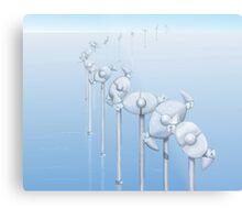 The Alternative Wind Farm Metal Print