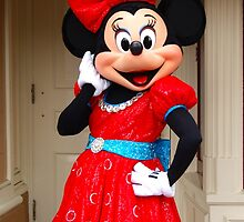 Sassy Minnie Mouse by nadiasneverland