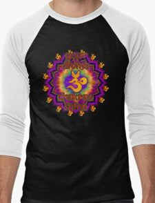 Divine Chakras Shine Men's Baseball ¾ T-Shirt