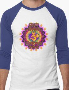Divine Chakras Shine Men's Baseball ¾ T-Shirt