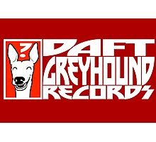 Daft Greyhound Records Photographic Print