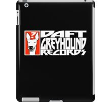 Daft Greyhound Records iPad Case/Skin