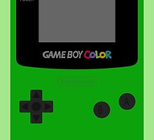 Game Boy Green by wanderingent