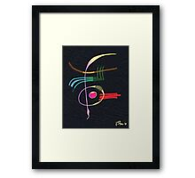 The poetry of symbolism Framed Print