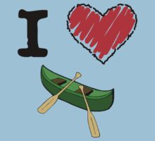 I Love to Canoe by Lorie Warren