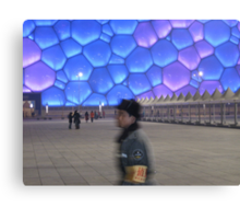 Guard The Water Cube Canvas Print