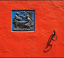 Wall Detail Portmeirion by ten2eight