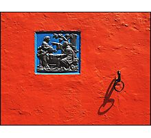Wall Detail Portmeirion Photographic Print