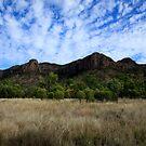 Virgin Rock And Mount Zamia by Noel Elliot