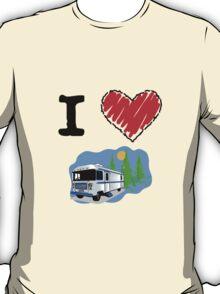 I Love RVing T-Shirt
