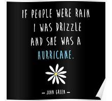 Looking For Alaska John Green Hurricane Poster