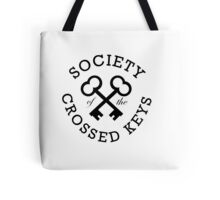 Society of the Crossed Keys Tote Bag