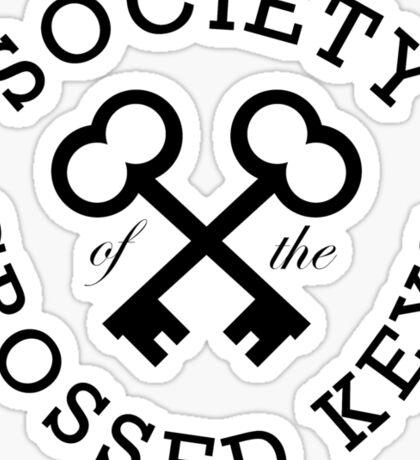 Society of the Crossed Keys Sticker
