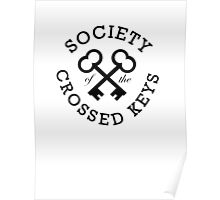 Society of the Crossed Keys Poster