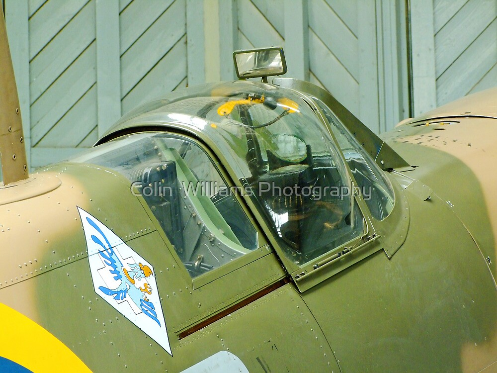 Spitfire Vb - JHC - Duxford by Colin  Williams Photography
