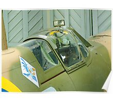 Spitfire Vb - JHC - Duxford Poster