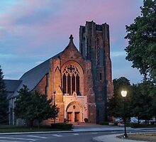 The Church of St. Mary/St. Paul - After the Storm by Kendall McKernon