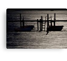 Ghost boats Canvas Print