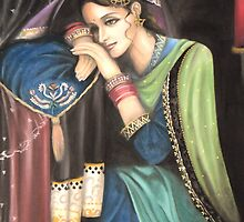 Indian girl by Lubna